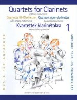 Clarinet Quartets for Beginners, Volume 1