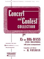 Concert and Contest Collections for Eb or BBb Bass: (Tuba-Sousaphone) with Piano Accompaniment