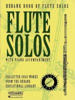 Rubank Book of Flute Solos - Easy Level: (Includes Piano Accompaniment)