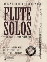 Rubank Book of Flute Solos - Intermediate Level: (Includes Piano Accompaniment)