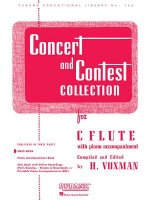 Concert and Contest Collection for C Flute: With Piano Accompaniment