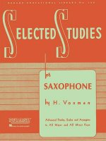 Selected Studies: For Saxophone
