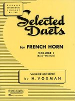 Selected Duets for French Horn, Volume I: (Easy-Medium)