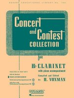 Concert and Contest Collections for Bb Clarinet: With Piano Accompaniment