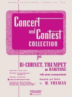 Concert and Contest Collection for Cornet, Trumpet or Baritone with Piano Accompaniment