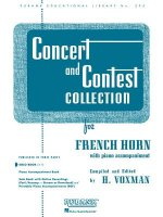 Concert and Contest Collection: For French Horn with Piano Accompaniment