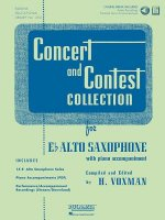 Concert and Contest Collection for Eb Alto Saxophone: Solo Part W/CD