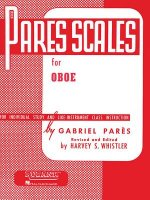 Pares Scales for Individual Study and Like-Instrument Class Instruction