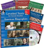 Leveled Texts for Social Studies: 6-Book Set