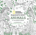 National Geographic Magnificent Animals: An Adult Coloring Book
