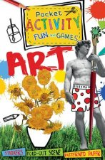 Art Pocket Activity Fun and Games [With Sticker(s)]