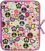 Peace Out NeoSkin iPad 2 Neoprene Jacket: With Built-In Screen Protection