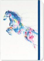 Watercolor Horse Journal (Diary, Notebook)