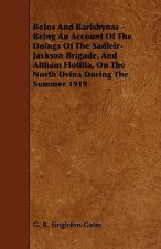 Bolos and Barishynas - Being an Account of the Doings of the Sadleir-Jackson Brigade, and Altham Flotilla, on the North Dvina During the Summer 1919