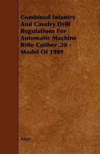 Combined Infantry and Cavalry Drill Regulations for Automatic Machine Rifle Caliber .30 - Model of 1909