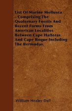 List Of Marine Mollusca - Comprising The Quaternary Fossils And Recent Forms From American Localities Between Cape Hatteras And Cape Roque Including T