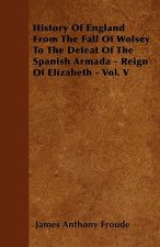 History Of England From The Fall Of Wolsey To The Defeat Of The Spanish Armada - Reign Of Elizabeth - Vol. V