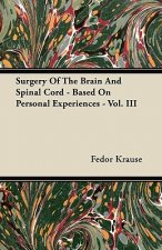 Surgery Of The Brain And Spinal Cord - Based On Personal Experiences - Vol. III