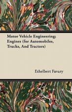 Motor Vehicle Engineering; Engines (for Automobiles, Trucks, And Tractors)