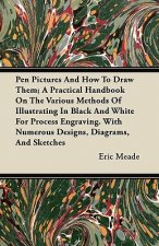 Pen Pictures And How To Draw Them; A Practical Handbook On The Various Methods Of Illustrating In Black And White For Process Engraving. With Numerous