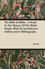 The Bible In Wales - A Study In The History Of The Welsh People, With An Introductory Address And A Bibliography