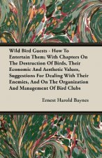 Wild Bird Guests - How To Entertain Them; With Chapters On The Destruction Of Birds, Their Economic And Aesthetic Values, Suggestions For Dealing With