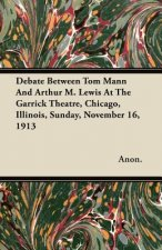 Debate Between Tom Mann and Arthur M. Lewis at the Garrick Theatre, Chicago, Illinois, Sunday, November 16, 1913