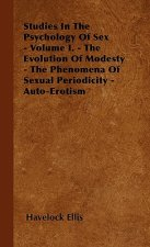 Studies In The Psychology Of Sex - Volume I. - The Evolution Of Modesty - The Phenomena Of Sexual Periodicity - Auto-Erotism