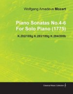 Piano Sonatas No.4-6 by Wolfgang Amadeus Mozart for Solo Piano (1775) K.282/189g K.283/189g K.284/205b