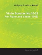 Violin Sonatas No.16-22 by Wolfgang Amadeus Mozart for Piano and Violin (1766)