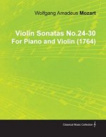 Violin Sonatas No.24-30 by Wolfgang Amadeus Mozart for Piano and Violin (1764)