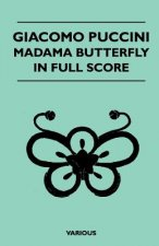 Giacomo Puccini - Madama Butterfly in Full Score