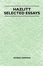 Hazlitt - Selected Essays