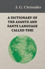 A Dictionary of the Asante and Fante Language Called Tshi (Chwee, Twi), With a Grammatical Introduction and Appendices on the Geography of the Gold Co