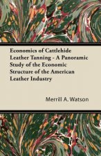 Economics of Cattlehide Leather Tanning - A Panoramic Study of the Economic Structure of the American Leather Industry