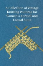 A Collection of Vintage Knitting Patterns for Women's Formal and Casual Suits