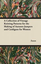 A Collection of Vintage Knitting Patterns for the Making of Autumn Jumpers and Cardigans for Women