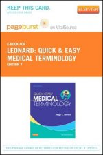Quick & Easy Medical Terminology - Pageburst E-Book on Vitalsource (Retail Access Card)