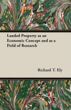 Landed Property as an Economic Concept and as a Field of Research
