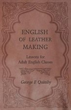 English of Leather Making - Lessons for Adult English Classes