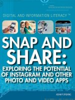 Snap and Share: Exploring the Potential of Instagram and Other Photo and Video Apps