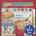 Daniel Tiger Shrink-Wrapped Pack #1: Goodnight, Daniel Tiger; Meet the Neighbors!; Welcome to the Neighborhood