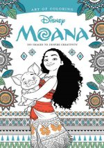 Art of Coloring: Moana: 100 Images to Inspire Creativity and Relaxation