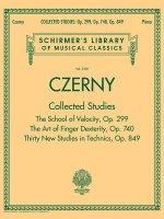 Czerny: Collected Studies - Op. 299, Op. 740, Op. 849: Schirmer's Library of Musical Classics Volume 2108