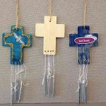 Vacation Bible School (Vbs) 2016 Surf Shack Cross Wind Chimes (Pkg of 12): Catch the Wave of God's Amazing Love