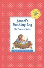 Amari's Reading Log: My First 200 Books (Gatst)