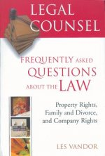 Legal Counsel: Book 2: Frequently Asked Questions about the Law