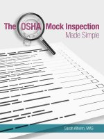 The OSHA Mock Inspection Made Simple