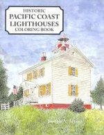 Pacific Coast Lighthouses Coloring Book