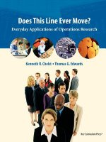 Does This Line Ever Move?: Everyday Applications of Operations Research